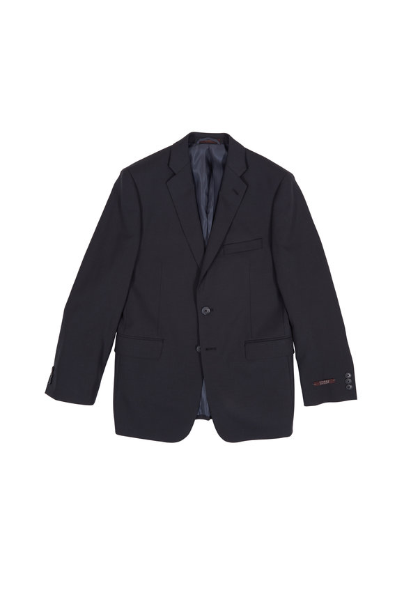 Hickey Freeman Children Charcoal Gray Wool Boys Suit