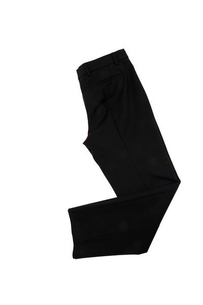 Derek Lam - Black Sateen Cropped Pants
