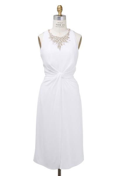Jenny Packham - White Cady Dress