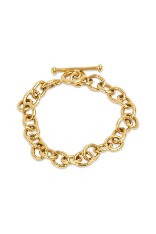 20K Yellow Gold Medium Link Bracelet
