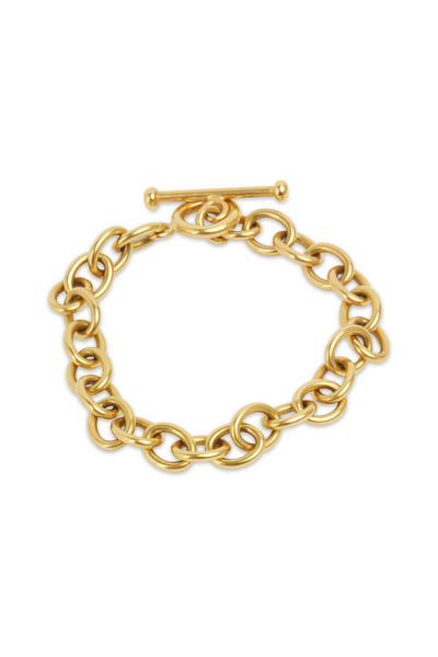 Caroline Ellen - 20K Yellow Gold Medium Link Bracelet
