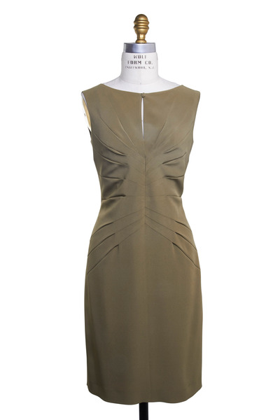 Kiton - Balen Mooring Green Sleeveless Dress