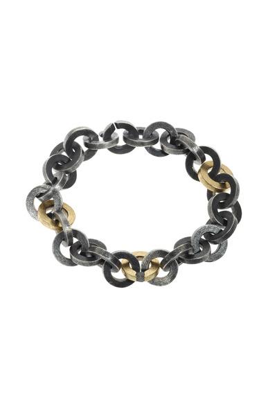 Todd Reed - Sterling Silver Raw Diamond Bead Bracelet