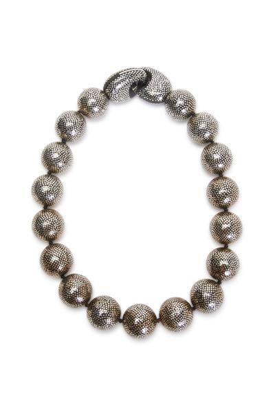 Patricia von Musulin - Sterling Silver Ebony Bead Necklace