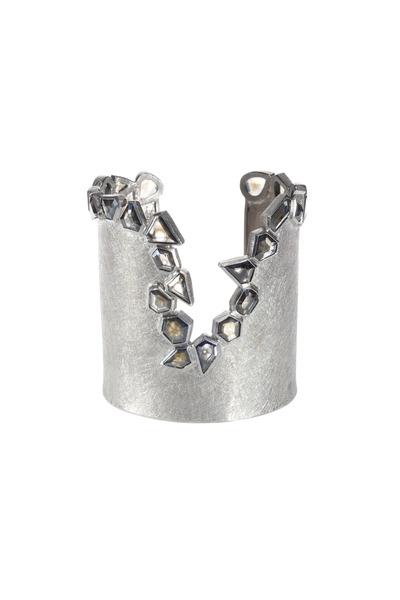 Todd Reed - Palladium Diamond Cuff Bracelet