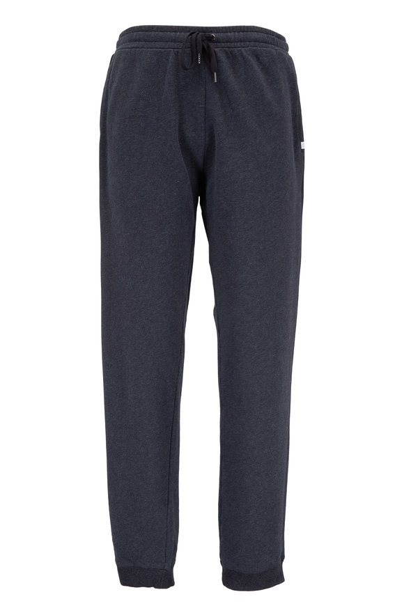 Derek Rose Charcoal Gray Cotton Sweatpant
