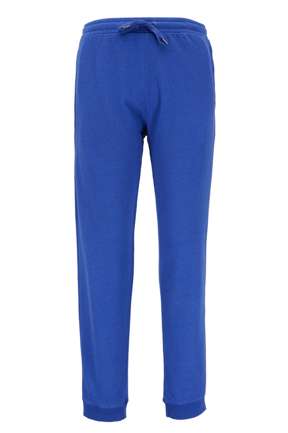Derek Rose Devon Royal Blue Sweatpant