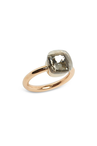 Pomellato - Pink Gold Colorless Topaz Ring