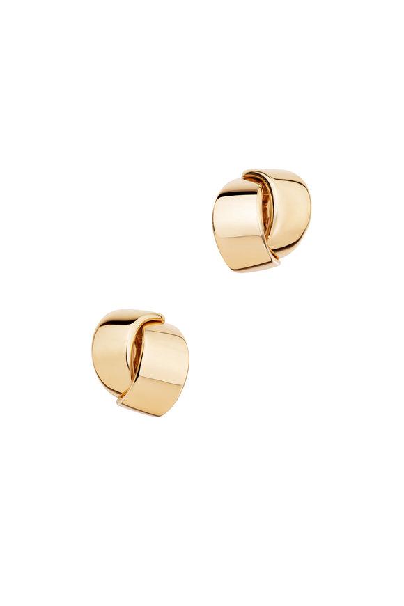 Vhernier 18K Pink Gold Abbraccio Earrings
