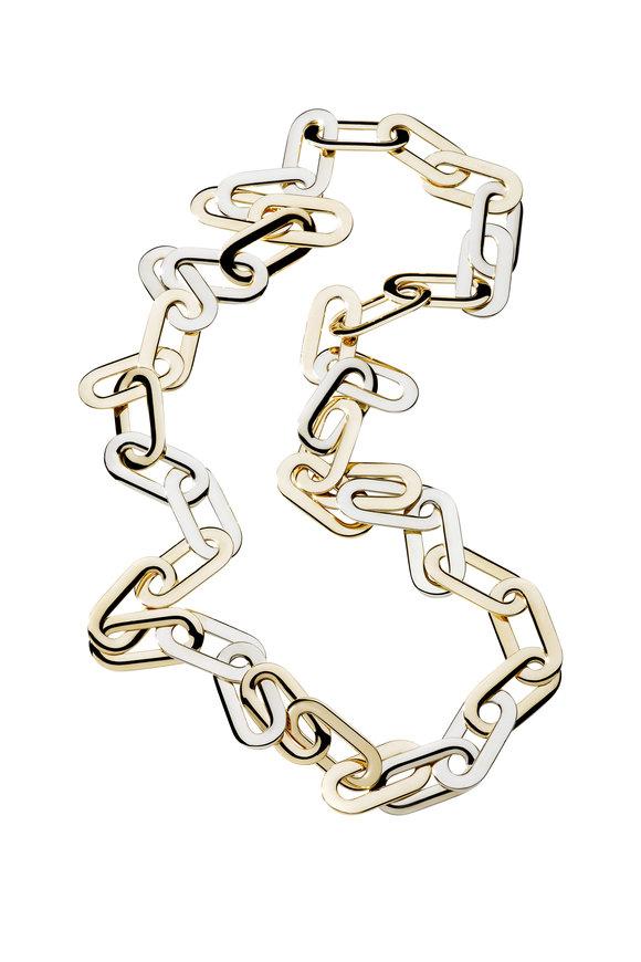 Vhernier 18K Pink Gold Mon Jeu Chain