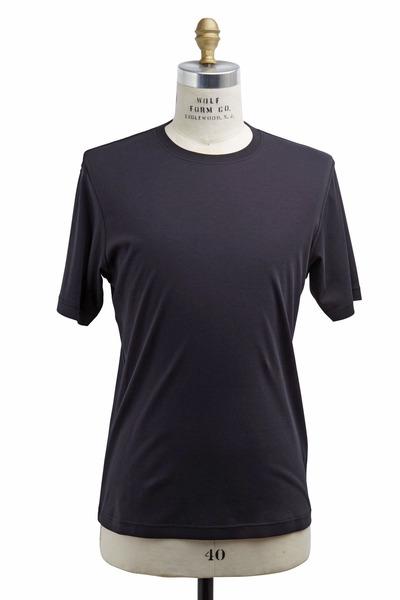 Raffi - Black New Aqua Cotton T-Shirt
