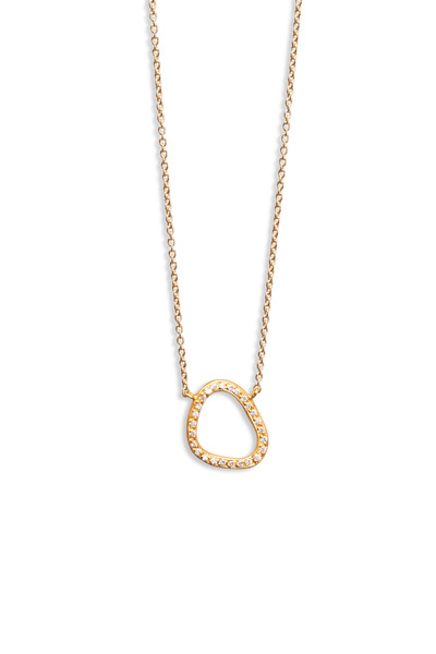 Yossi Harari - Yellow Gold Diamond Necklace