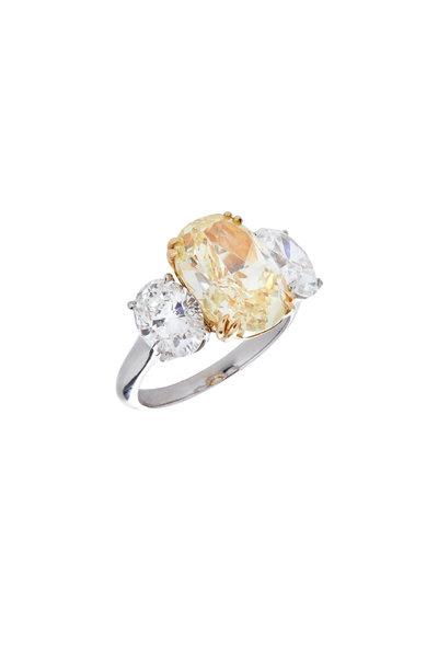 Louis Newman - Fancy Yellow Ring