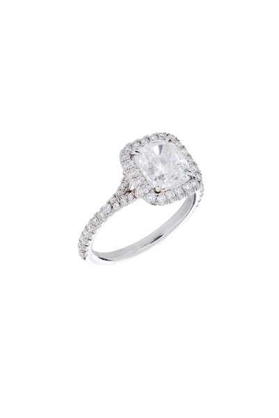 Louis Newman - Diamond Cushion Cut Stone