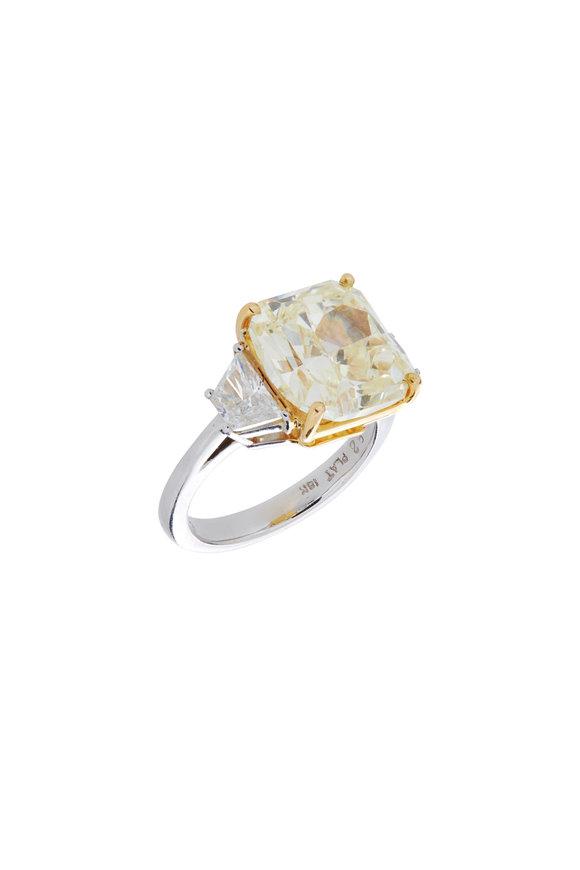 Louis Newman Platinum Diamond Ring