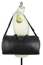 Ghurka - Black Leather Duffel Bag