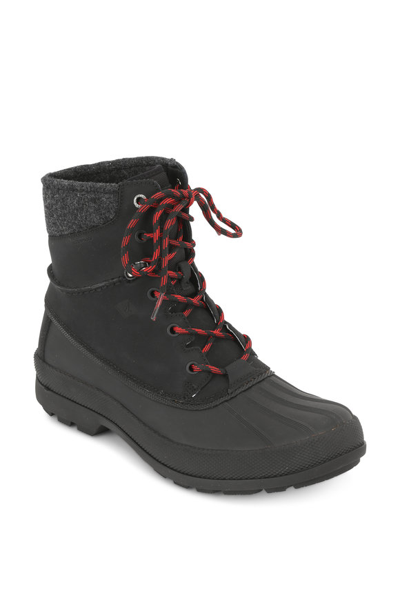 Sperry Cold Bay Black Waterproof Boot