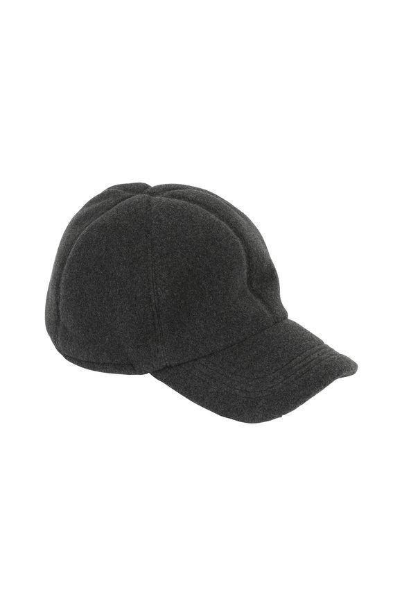 Wigens Charcoal Gray Fleece Gore-Tex Cap