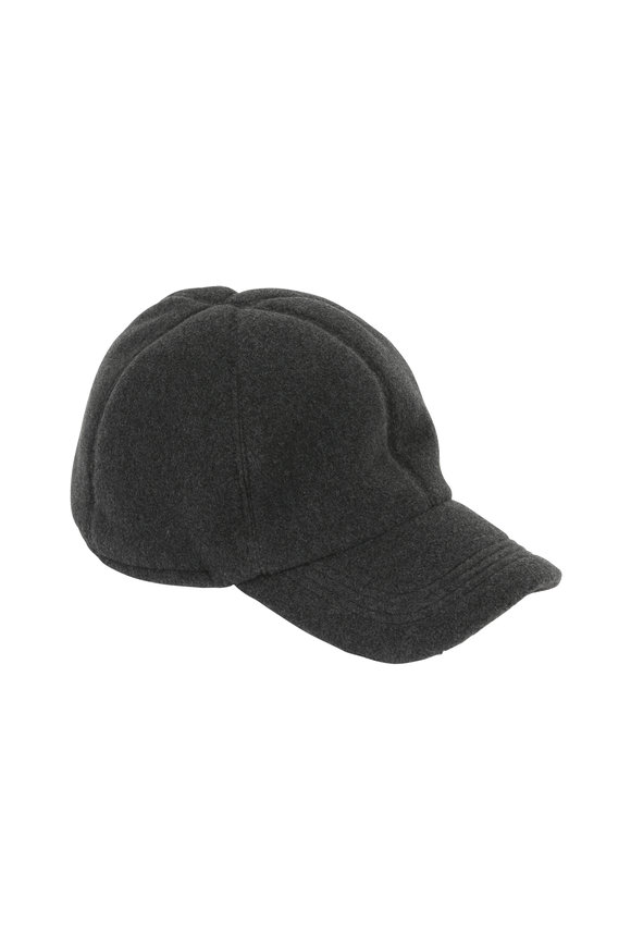 Wigens Charcoal Gray Fleece Gore-Tex Cap