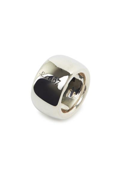 Pomellato - Milano Sterling Silver Wide Band Ring