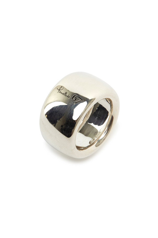 Milano Sterling Silver Wide Band
