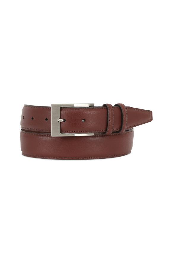 Torino Medium Brown Leather Belt