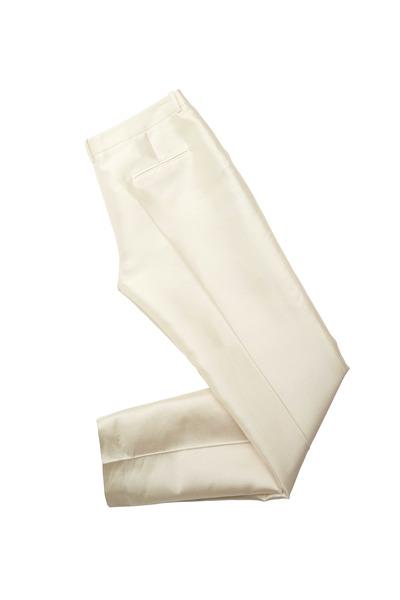 Michael Kors Collection - Skinny Sam White Pants