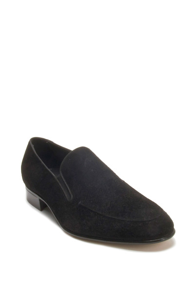 Gravati - Black Suede Loafer