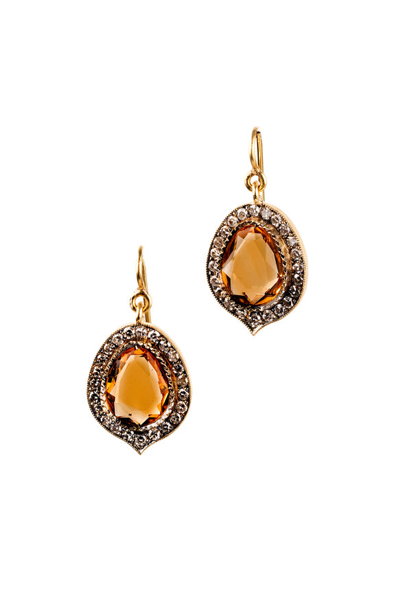 Sylva & Cie Citrus Drop Earring
