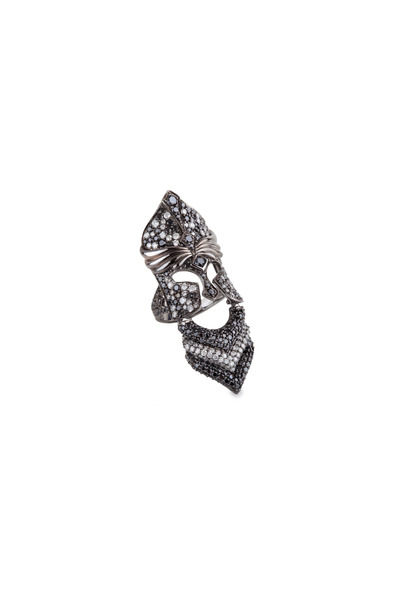 Bochic - Noveau Knight White Gold Diamond Ring