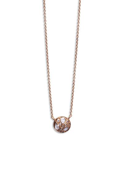 Yossi Harari - Rose Gold Diamond Pendant