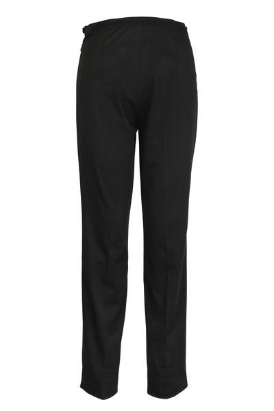 Bogner - Rosi Black Cotton Pant