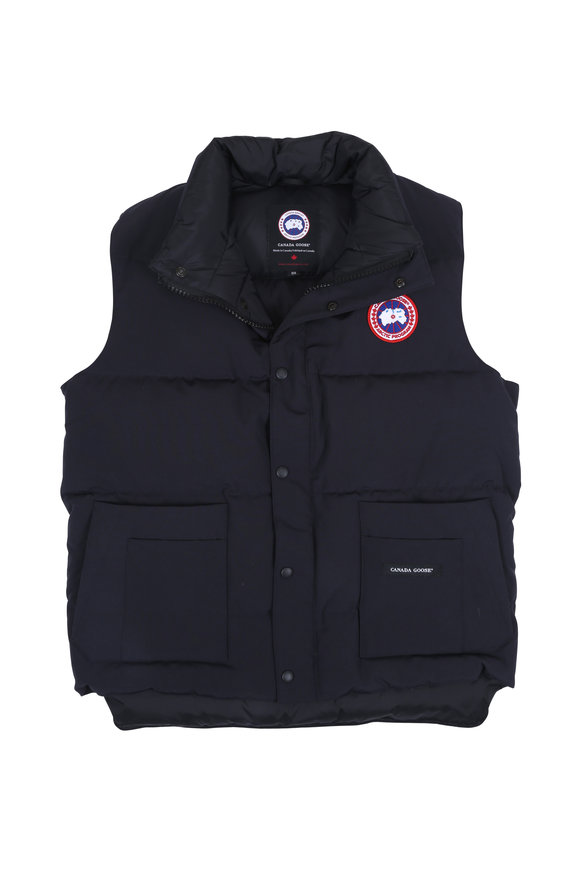 Canada Goose Freestyle Navy Blue Down Vest