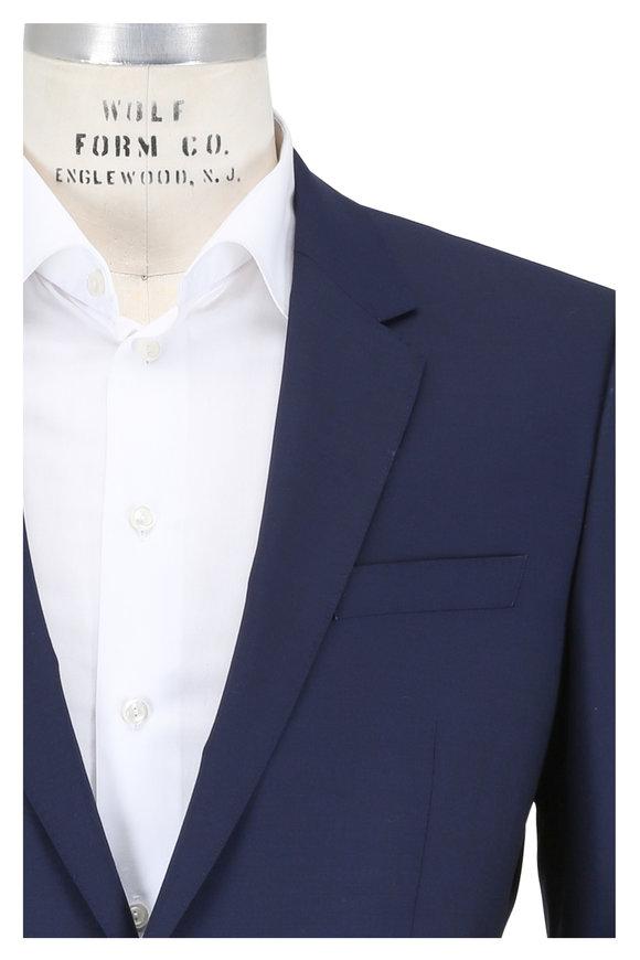 Boss Hugo Boss Genius Navy Blue Wool Suit