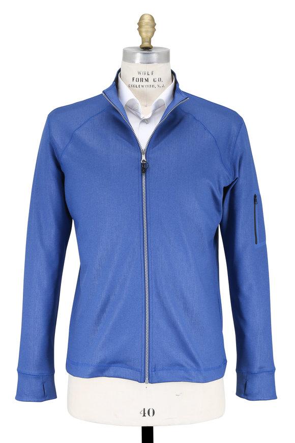 Robert Graham Jabba Blue Stretch Jersey Jacket