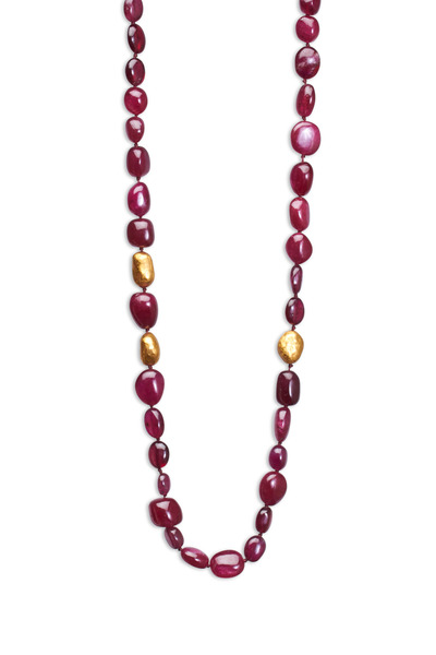 Yossi Harari - Roxanne Ruby Long Wrap Necklace