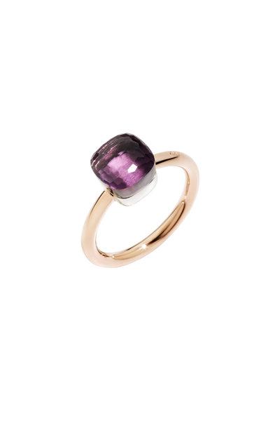 Pomellato - Nudo 18K Rose Gold Small Amethyst Ring