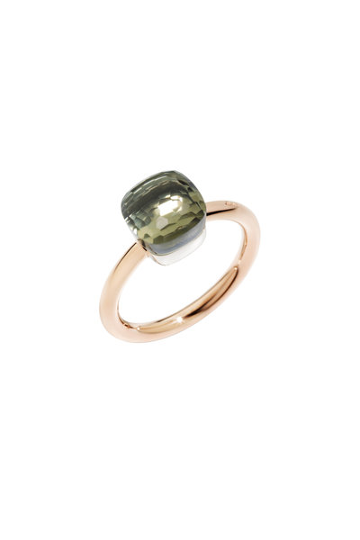 Pomellato - Nudo 18K Rose Gold Small Praisiolite Ring