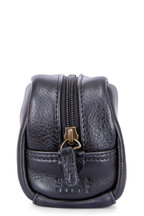 Moore & Giles - George Gunmetal Leather Mini Dopp Kit