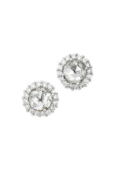 Paul Morelli - 18K White Gold Diamond Studs