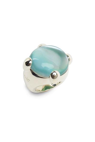 Pomellato - Sterling Silver Aquamarine Ring