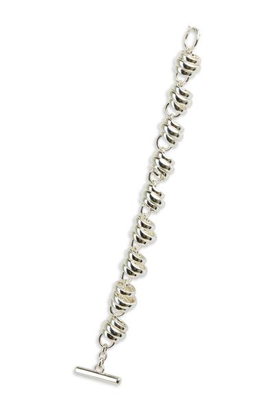 Pomellato - Burnished Sterling Silver Rondelle Bracelet