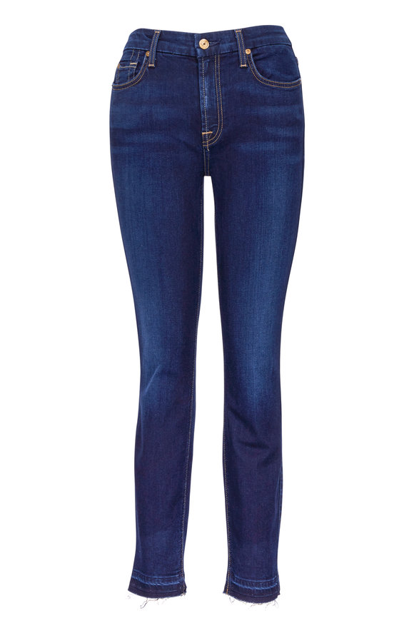 7 For All Mankind B(Air) Ankle Skinny Released Hem Jean