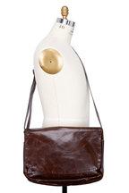 Moore & Giles - Sackett Brompton Brown Leather Messenger Bag