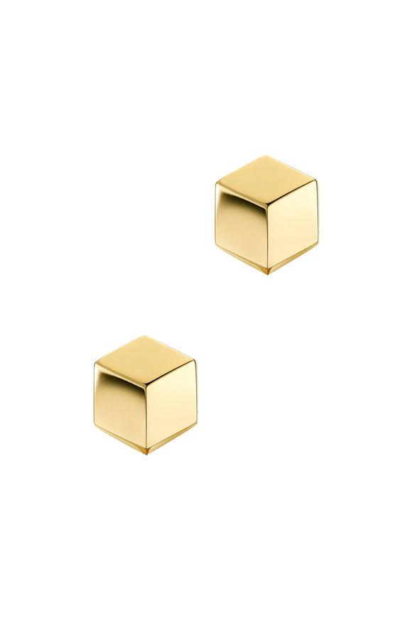 Paolo Costagli Yellow Gold Brilliante Studs