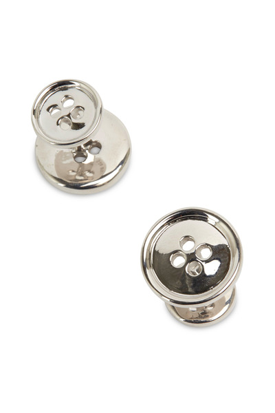 Robin Rotenier - Sterling Silver Button Cuff Links