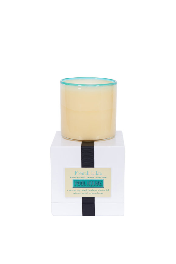 Lafco Pool House French Lilac Candle, 16oz.