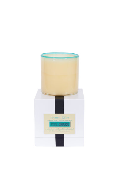 Lafco - Pool House French Lilac Candle, 16oz.