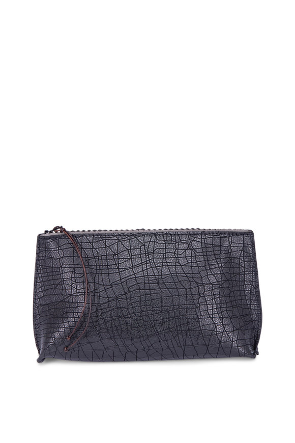 B May Bags Black Doodle Essential Pouch