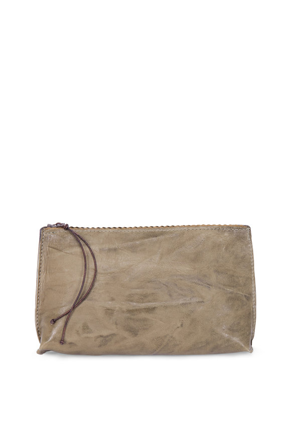 B May Bags Loden Sheepskin Essential Pouch
